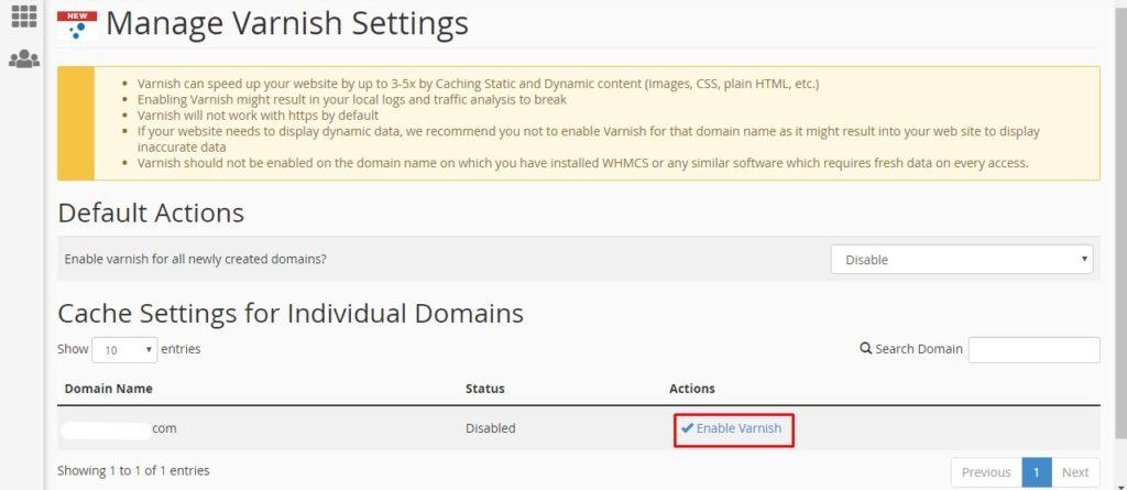 Seting Varnis cache cara mempercepat web